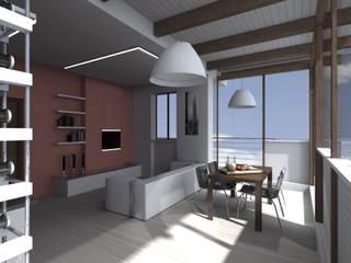 Living room by Wanda Loizzo Architect