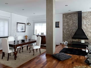 Living room by  BB INTERIORISMO, Modern