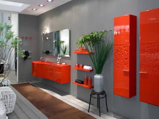 現代浴室設計點子、靈感&圖片 根據 Lucarelli Rapisarda Architettura & Design 現代風