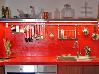 Cocinas de estilo moderno de Lucarelli Rapisarda Architettura & Design Moderno