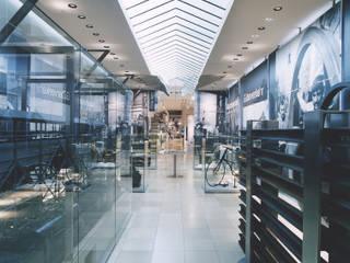 Salas multimédia  por Marius Schreyer Design