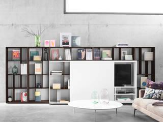 Sala de estar  por Zimmermanns Kreatives Wohnen