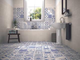 Skyros wall and floor tiles de homify Rural