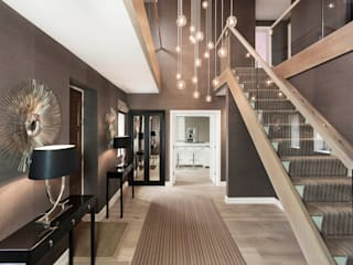 Entrance Hall Modern Corridor, Hallway and Staircase by Studio Hooton Modern