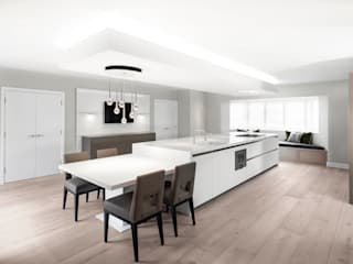 Contemporary Kitchen Space by Studio Hooton Сучасний