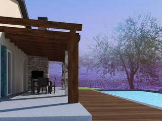 Casas de estilo mediterráneo de CAFElab studio Mediterráneo