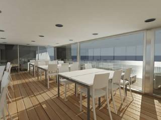 Sala de Estudios: Oficinas y Tiendas de estilo  de Oscar Espinosa