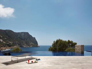 Terrazza in stile  di Octavio Mestre Arquitectos