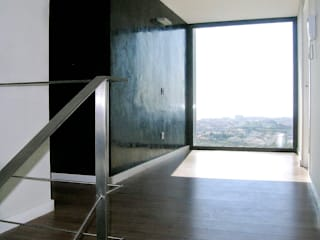 House at Pineda de Mar Octavio Mestre Arquitectos Tangga, Lorong & Koridor: Ide desain, inspirasi & gambar