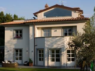 il progetto di una villa archbcstudio Moderne Häuser