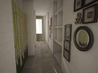 Ausgefallener Flur, Diele & Treppenhaus von labzona Ausgefallen
