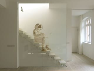 Modern Corridor, Hallway and Staircase by Philipp Walter Modern