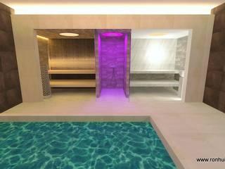 Traum Wellness im Keller Moderner Spa von RON Stappenbelt, Interiordesign Modern