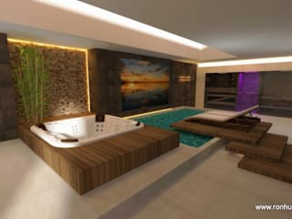 Home Spa: modernes Spa von RON Stappenbelt, Interiordesign