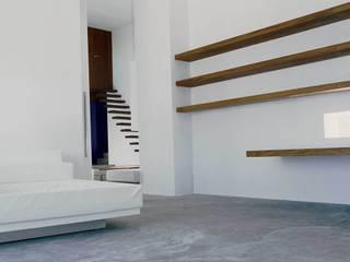 Couloir et hall d'entrée de style  par Ramón Esteve Estudio