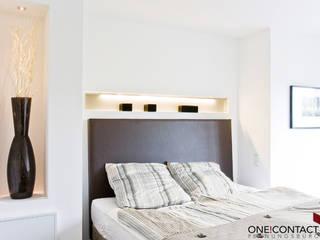 TANZ AUS DER REIHE Moderne Schlafzimmer von ONE!CONTACT - Planungsbüro GmbH Modern