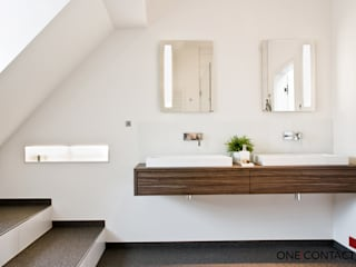 Modern style bathrooms by ONE!CONTACT - Planungsbüro GmbH Modern