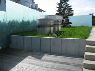 Atelier-Wohnung:  Terrasse von Lehmann Art Deco Architekt