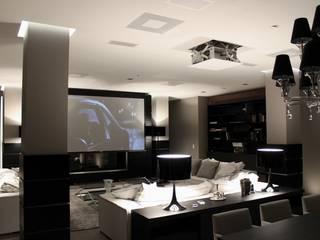 Ernesto Fusco Modern Living Room Wood Brown