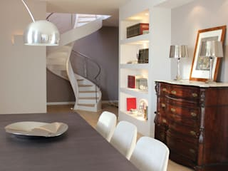 Ernesto Fusco Modern Dining Room Wood White