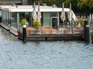 Restaurantes de estilo  por FLOATING HOMES