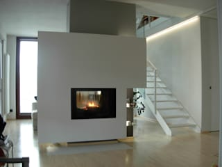 Progetti d'Interni e Design Living roomFireplaces & accessories