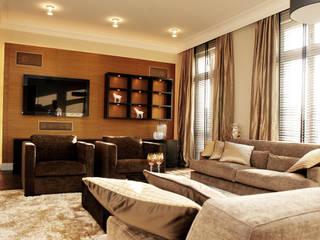 Living room by Atelier Schöngestalt