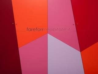 Fabiola Ferrarello ห้องแต่งตัวตู้เสื้อผ้าและลิ้นชัก ไม้ Multicolored