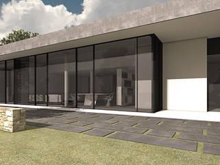 Maison Moderne à Grenoble: Maisons de style  par +33architectes