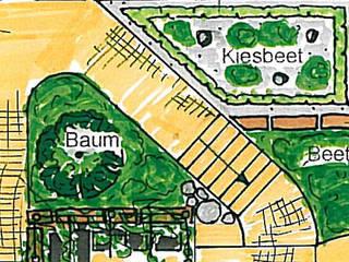 Neue Ideen für einen Reihenhausgarten Klassischer Garten von MEINE GARTENBERATER Klassisch