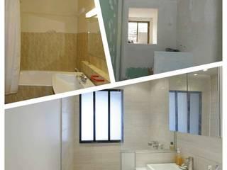 Salle de douche: Salle de bains de style  par Design By Solène Utard