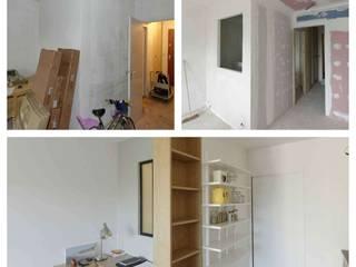 Espace bureau: Couloir et hall d'entrée de style  par Design By Solène Utard