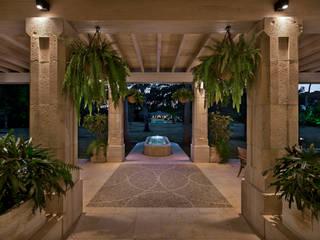 Hall de Terraza: Pasillos y recibidores de estilo  por Artigas Arquitectos