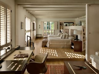 Rustic style bedroom by Artigas Arquitectos Rustic