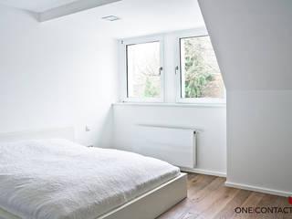 STILLE NOBLESSE:  Schlafzimmer von ONE!CONTACT - Planungsbüro GmbH