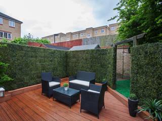 Garden - Canary Wharf Millennium Interior Designers Modern style gardens