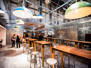 Restaurante Sala VIP ARCOmadrid 2013: Comedores de estilo  de Q:NØ Arquitectos