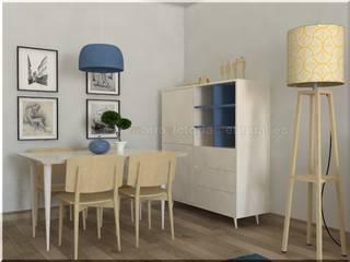 Pequeño apartamento. Comedores de estilo ecléctico de MUMARQ ARQUITECTURA E INTERIORISMO Ecléctico