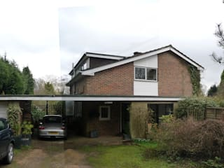 Transforming a 1960s Detached Property, Haslemere, Surrey od ArchitectureLIVE Nowoczesny