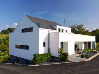 Straßenseite:  Häuser von BITSCH + BIENSTEIN Architekten PartGmbB