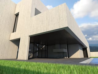 Vườn: thiết kế nội thất · bố trí · Ảnh bởi Q:NØ Arquitectos