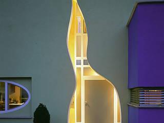 Wohnhaus in Schwab Moderne Häuser von Architektengruppe Numerobis Modern