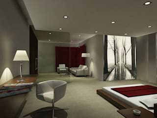 modern Bedroom by Presumedetucasa.es