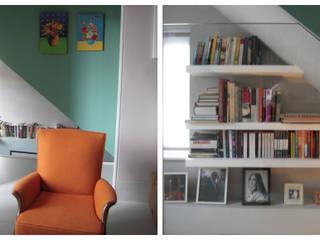 Hampstead Renovation Modern living room by Kelly Fannon Interior Design Modern