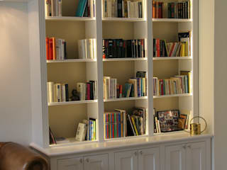 klassische Bibliothek: klassische Wohnzimmer von Bernhard Preis - Exklusive Lebenswelten