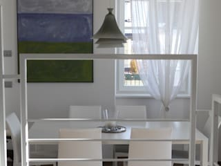 Modern Dining Room by luca pedrotti architetto Modern