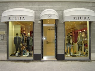 Luca Bucciantini Architettura d' interni Modern offices & stores