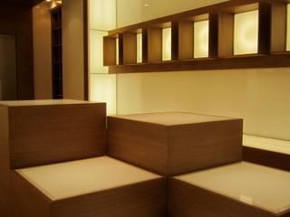 Ernesto Fusco Oficinas y tiendas Madera Acabado en madera