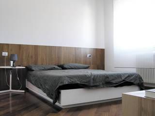 Casa EG: Camera da letto in stile in stile Moderno di Nuovostudio Architettura e Territorio