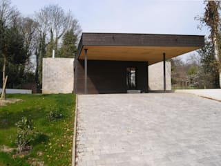 Allegre + Bonandrini architectes DPLG โรงรถและหลังคากันแดด